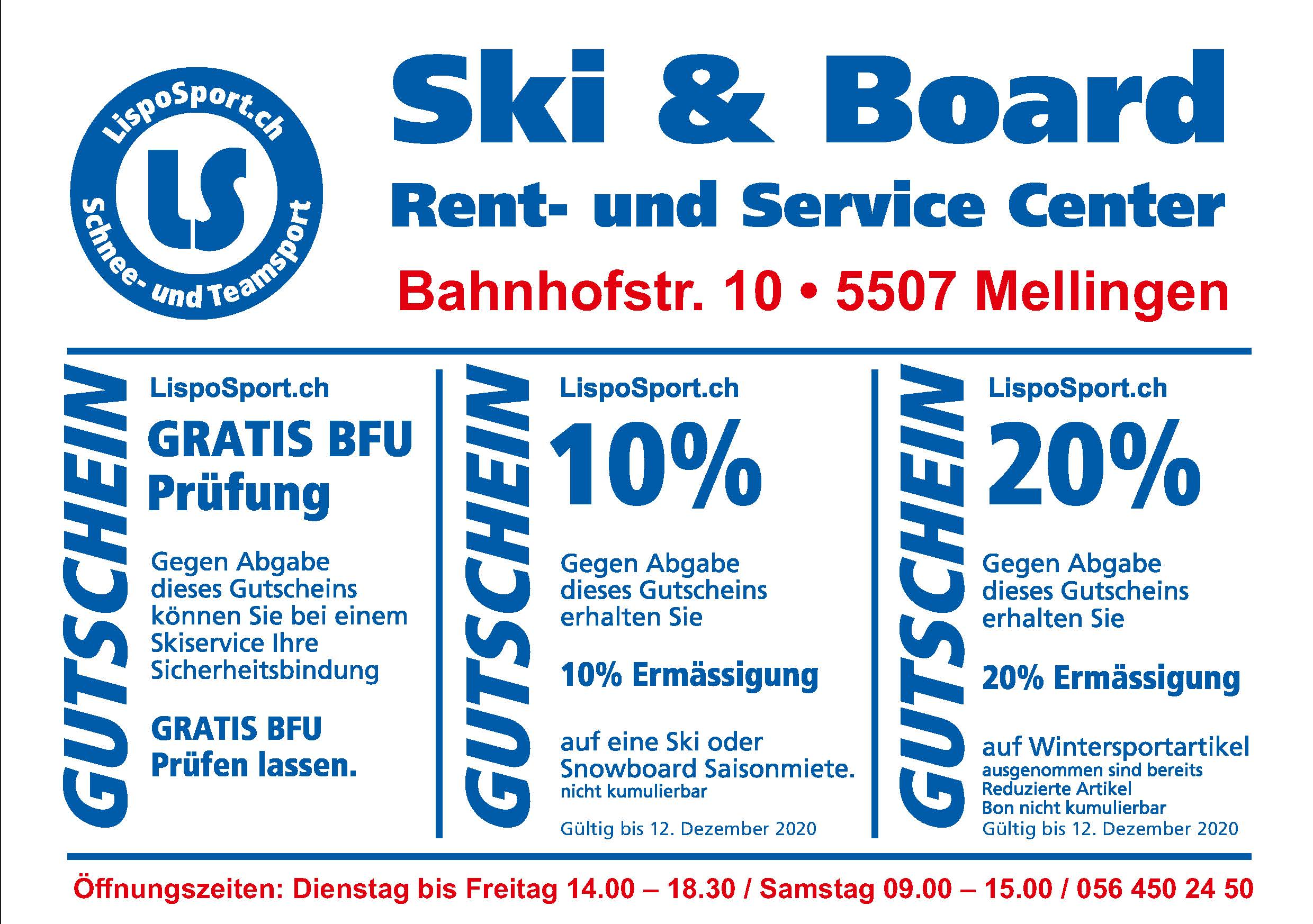Ski Board Rent- und Servicecenter